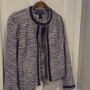 Lucky brand tweed blazer